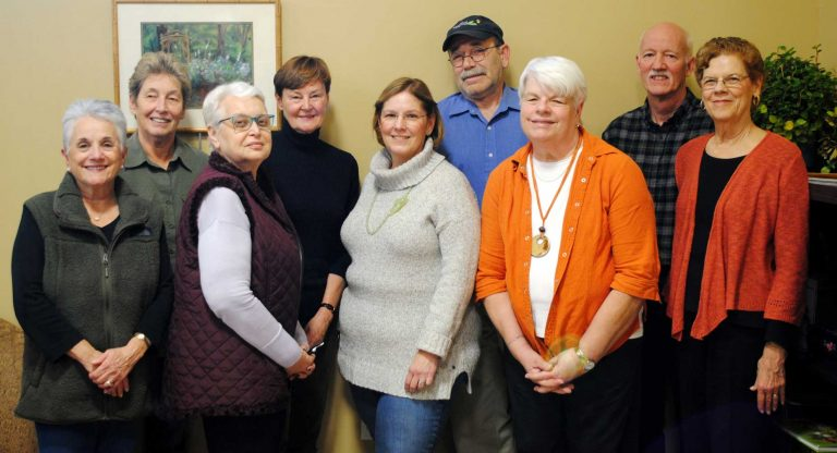 Newly elected members of the Board of Directors
