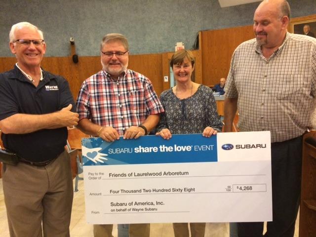 Subaru donation