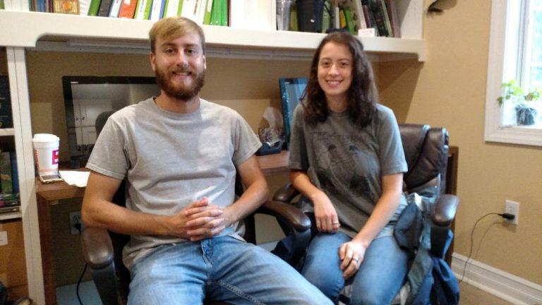 Ryan Wizner (left) and Kay Gardiner