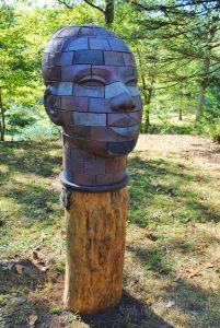 Brickhead Iyemoja, James Tyler Sculptor.