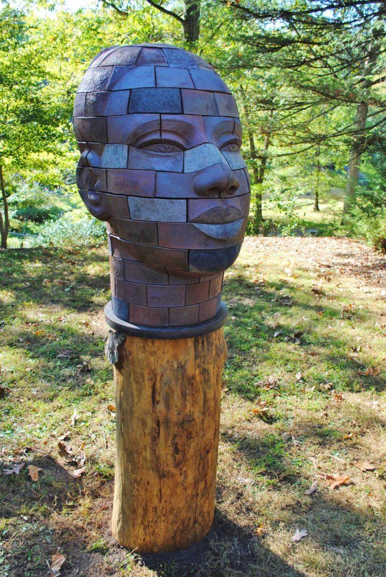 Brickhead Iyemoja, James Tyler Sculptor.