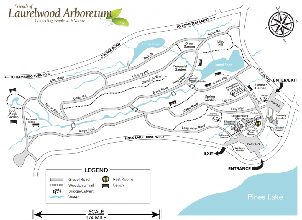 Laurelwood Trail Map
