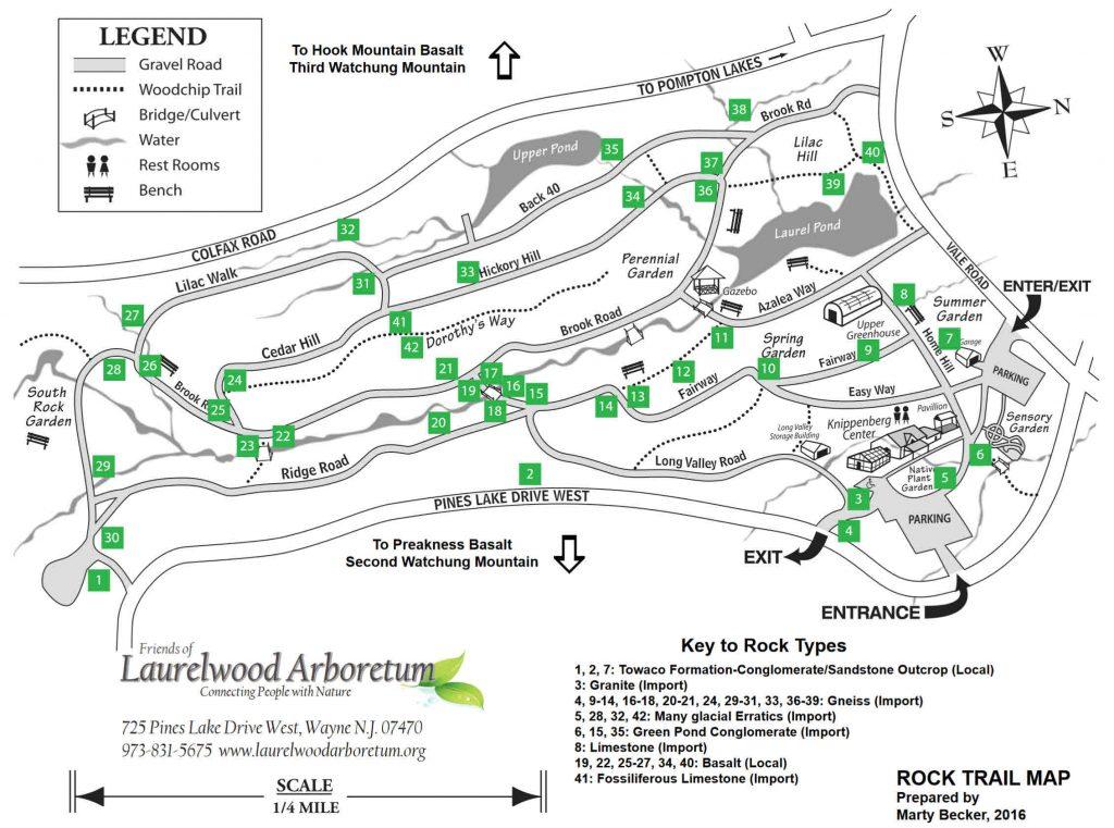 Rock Trail Map