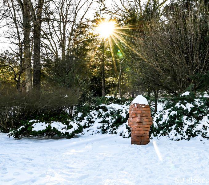 Gabriella Sculpture With Sun