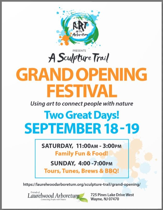 Family Fun & Food! @ A Sculpture Trail Grand Opening Festival