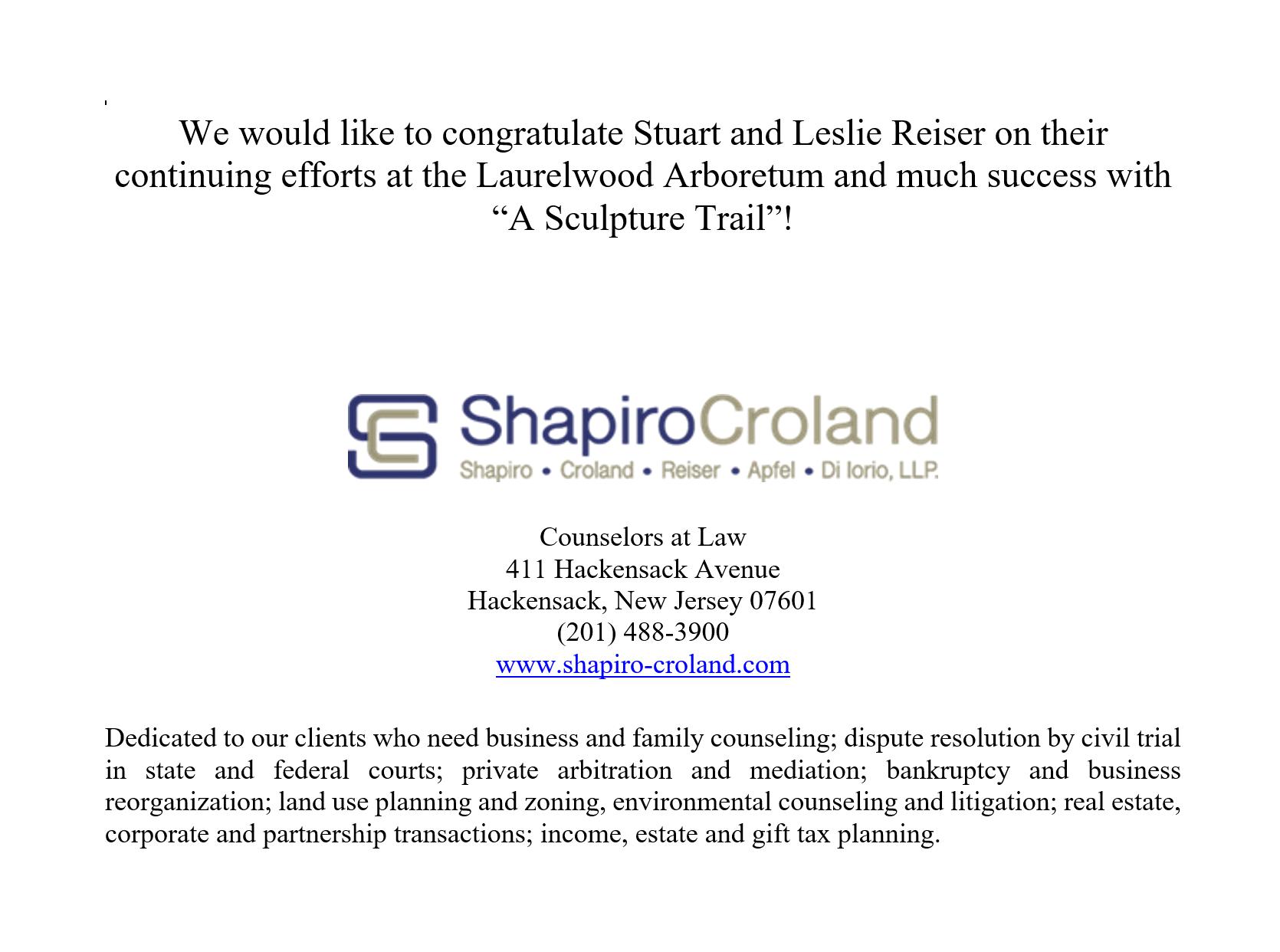 Shapiro Croland